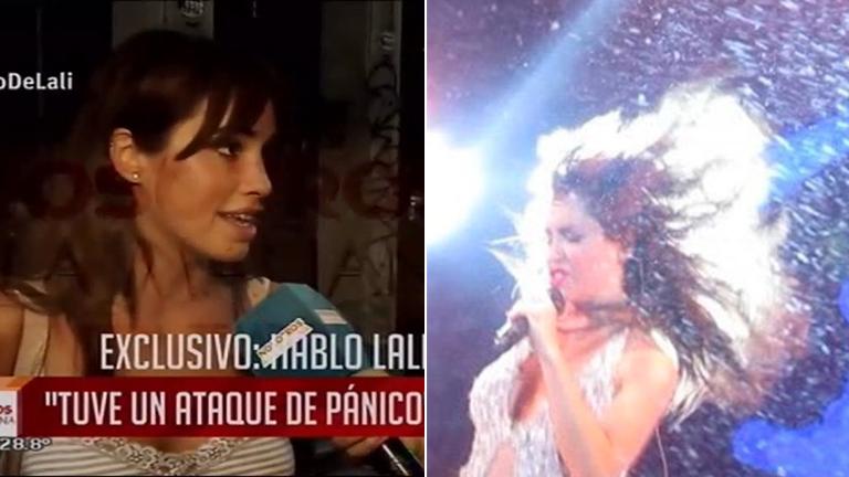Lali Espósito se puso seria y habló de la suspensión de su show: