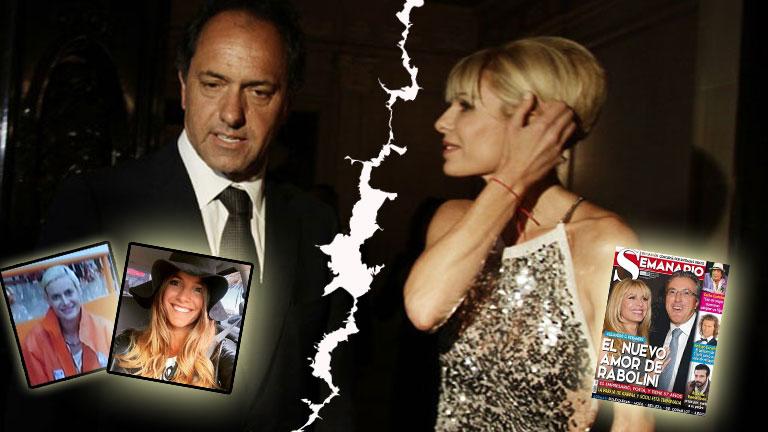 ¡Bomba! Daniel Scioli y Karina Rabolini estarían separados: ¿hay terceros en discordia de ambos lados?