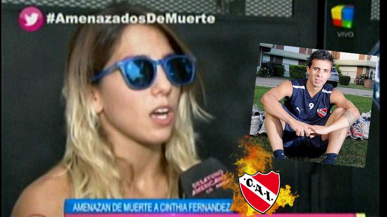 """Cinthia Fernández y las amenazas de muerte a su familia: """"Cualquier cosa que pase, tengo botón directo para llamar a la policía"""