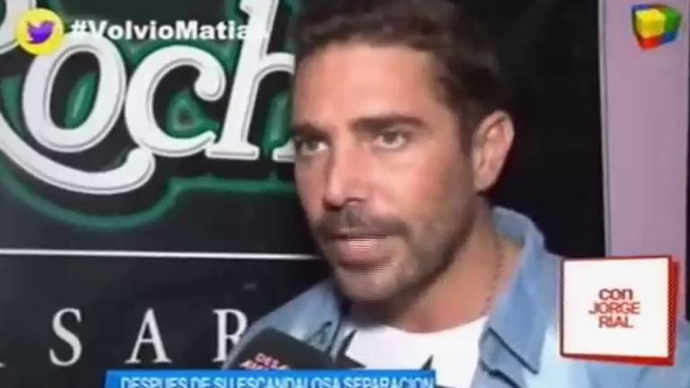 Matías Alé volvió al trabajo e hizo una presencia en un boliche: