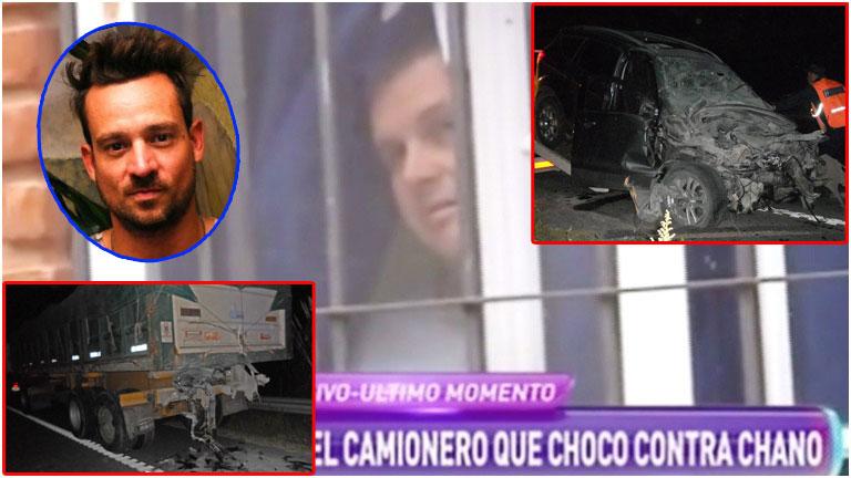 Habló el camionero que fue chocado por Chano Charpentier