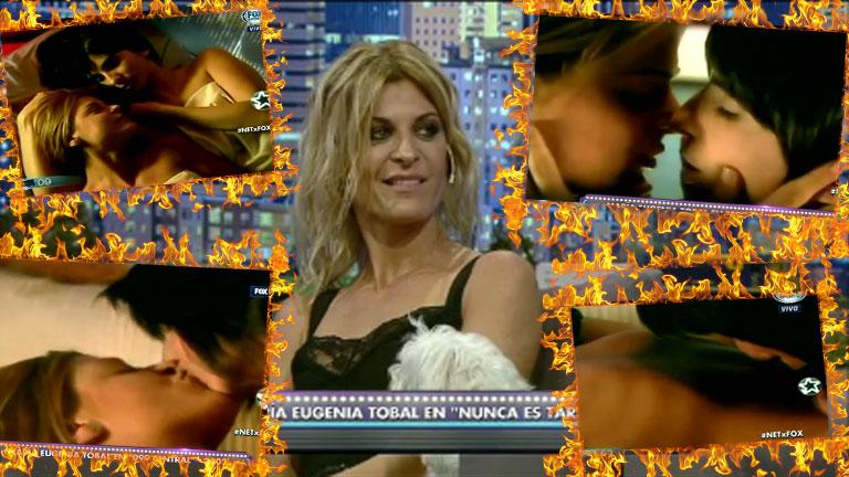 Eugenia Tobal contó detalles de su recordada escena hot con Carolina Peleritti