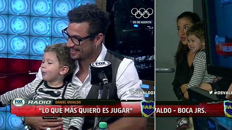 Daniel Osvaldo habló de su reconciliación con Jimena Barón