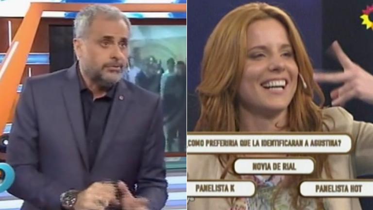 La broma de Jorge Rial tras el fallido de Agustina Kämpfer en Como anillo al dedo