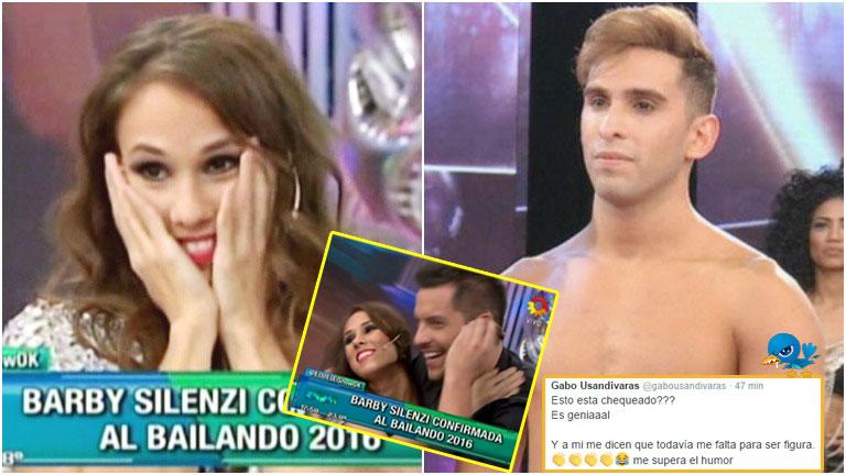 El enojo de un bailarín de ShowMatch tras ser confirmada Barby Silenzi al Bailando