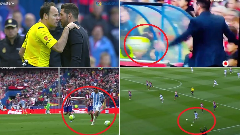 El video de la televisión española que deschavó al Cholo Simeone en medio de un partido: mirá la verdad de la jugada de la que todos hablan