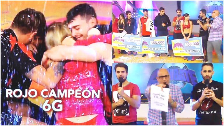 Combate: el equipo rojo se consagró campeón de la sexta generación