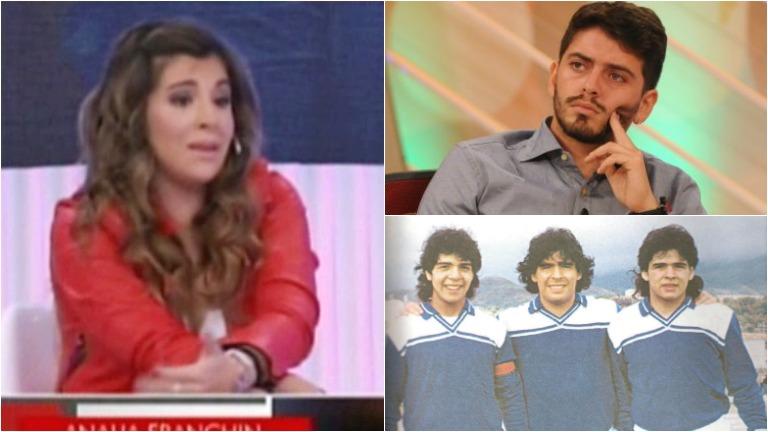 Gianinna Maradona habló de una polémica versión sobre Diego Junior