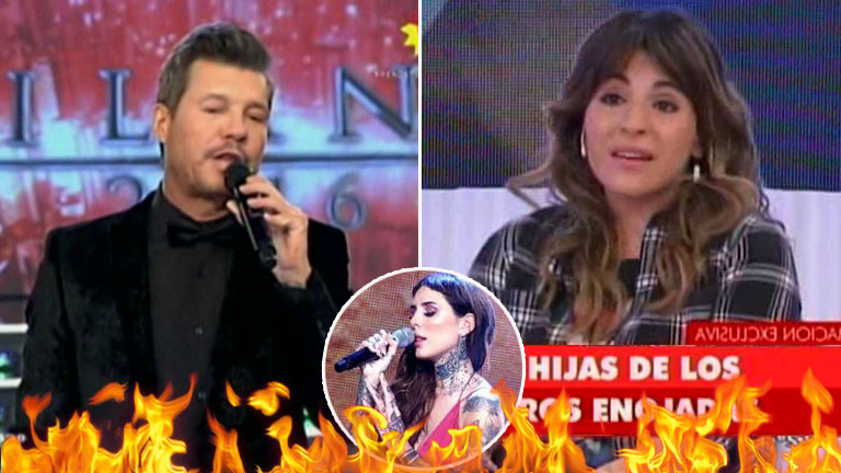 """El irónico """"saludito"""" de Marcelo a Gianinna Maradona tras sus picantes críticas a él y Candelaria"""