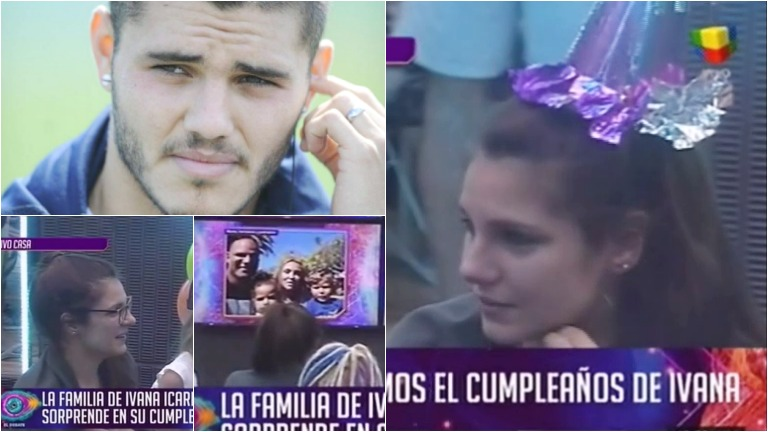 Ivana Acardi lloró porque su hermano no la saludó para su cumpleaños