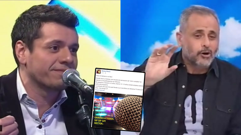 Héctor Rossi se despidió de Intrusos