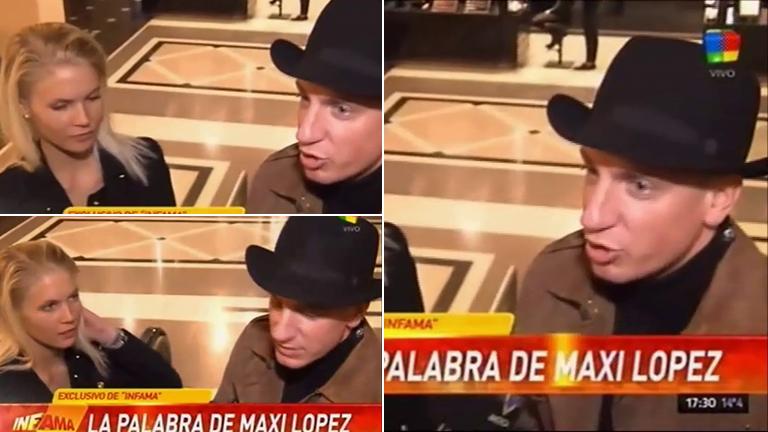 Maxi López y un nuevo escándalo con Wanda Nara: