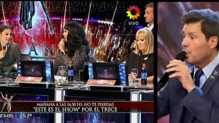 Moria Casán, Solita Silveyra y Pampita se trenzaron en vivo en Bailando 2016