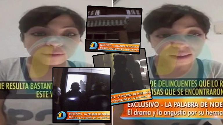Noelia Pompa, preocupada tras la detención de su hermano: