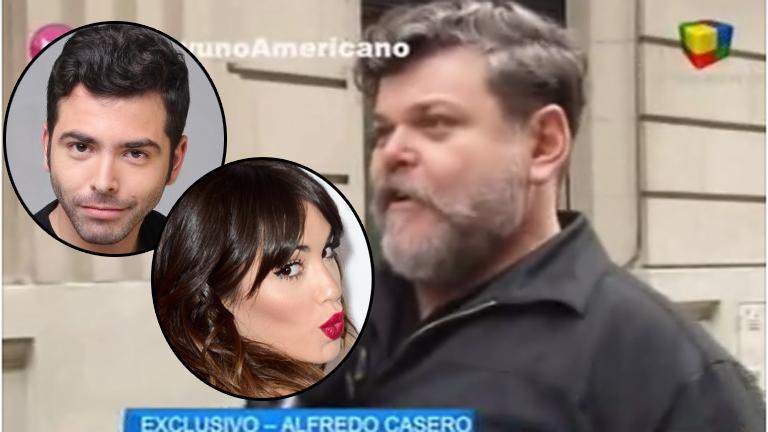Alfredo Casero habló de los rumores de romance de Nazareno con Lali: