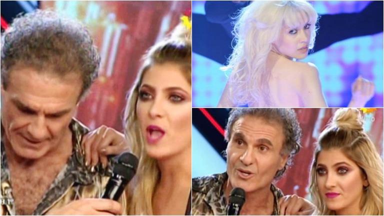 Los celos de Candela Ruggeri en ShowMatch por un piropo de Militta Bora a su padre