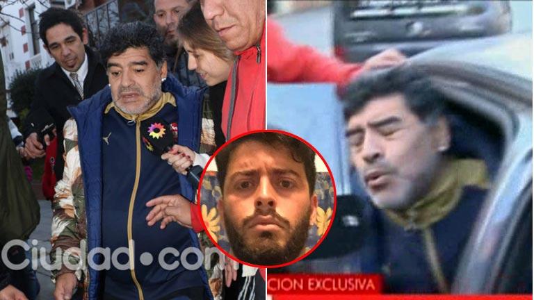 La dura reacción de Diego Maradona cuando le preguntaron por Diego Junior