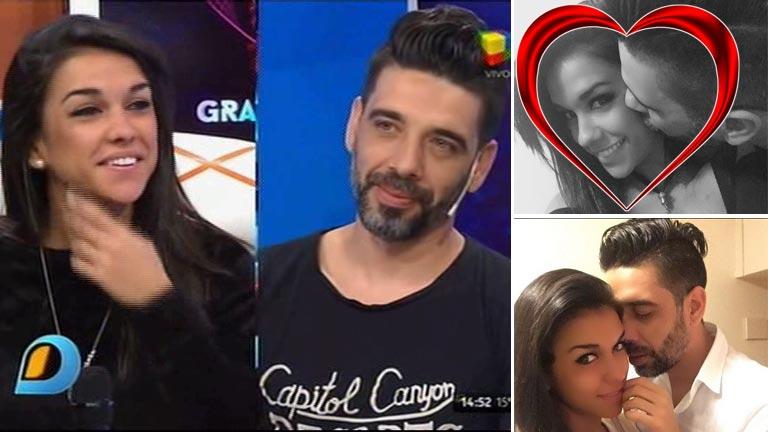 Cynthia Aller y Lucas Tisera confirmaron su noviazgo en Intrusos