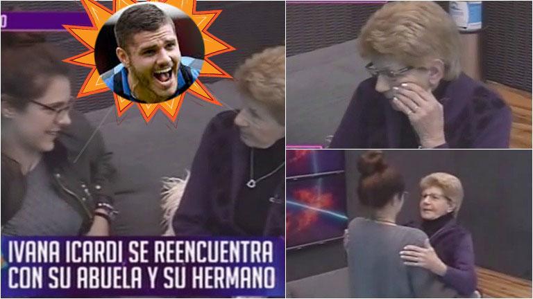 La abuela de Ivana Icardi entró a la casa de Gran Hermano 2016 y mirá qué le dijo de Mauro