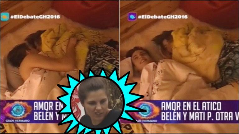 La noche de sexo de Belén y Matías P. en Gran Hermano 2016