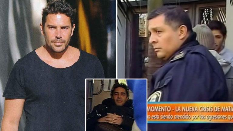 Con qué se encontró la policía al llegar a la casa de Matías Alé: ataques con una espada samurai y delirio con Star Wars