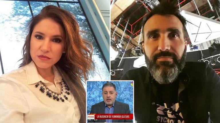 Fernanda Iglesias denunció a su marido por violencia de género: el apoyo de Doman y sus compañeros