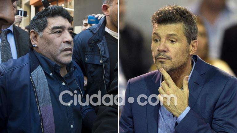 Diego Maradona arremetió durísimo contra Marcelo Tinelli