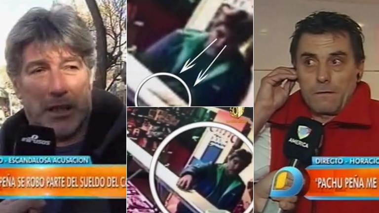 El video de Pachu Peña llevándose plata de una carnicería: qué dijo el actor
