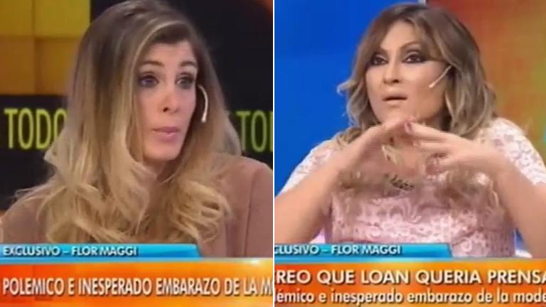 Marcela Tauro duda del embarazo de Flor Maggi ¡y se lo dijo en vivo en Intrusos!: