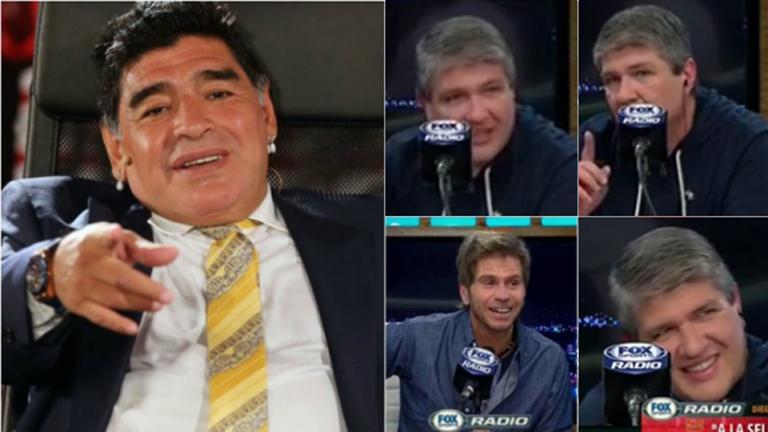 La emoción de Pablo Ladaga al hablar con Diego Maradona por primera vez