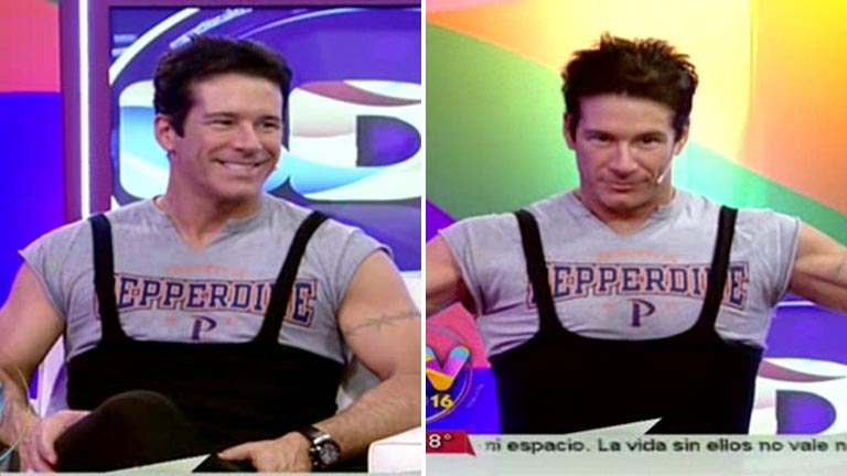 El insólito outfit de Fernando Carrillo en BDV: qué se puso