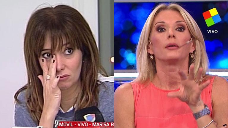 Fuerte cruce de Marisa Brel y Yanina Latorre