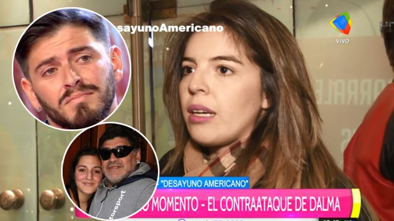 Dalma Maradona, distante de Jana y dura con Diego Jr.: