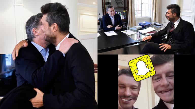 Todo sobre la reunión de Mauricio Macri y Marcelo Tinelli