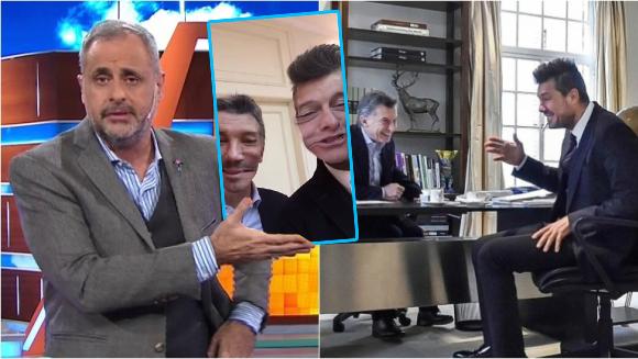 Jorge Rial, durísimo en Intrusos con el encuentro entre Tinelli y Macri