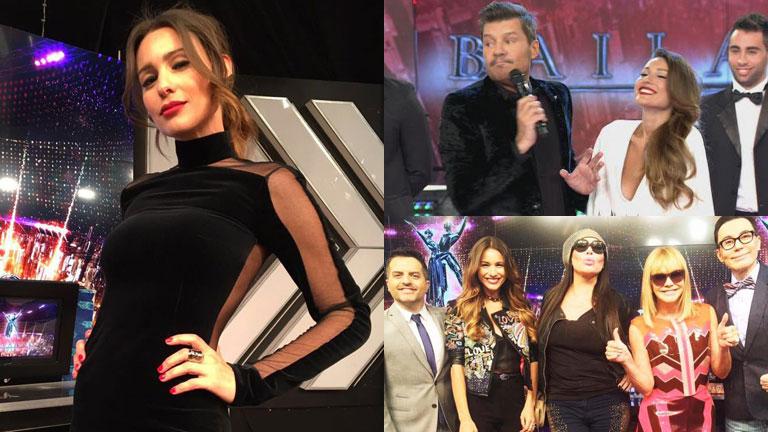 Pampita abandonó la grabación de ShowMatch: el motivo y la reacción de Tinelli