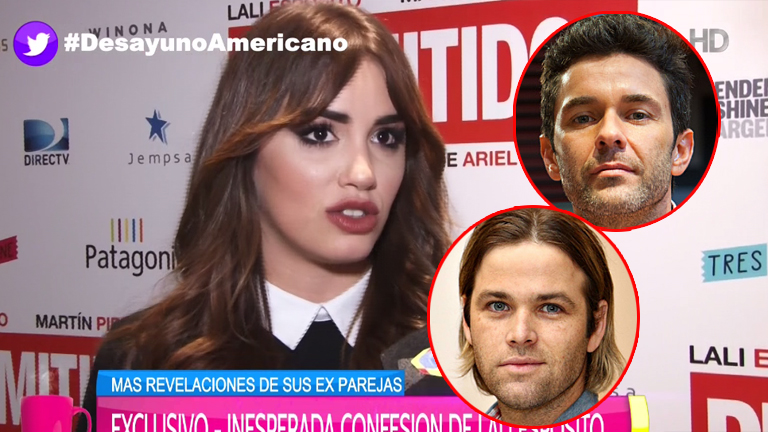 Lali Espósito habló de su separación de Mariano Martínez y lo comparó con Amadeo: