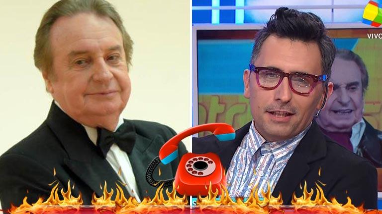 La pregunta de Franco Torchia que enfureció a Santiago Bal