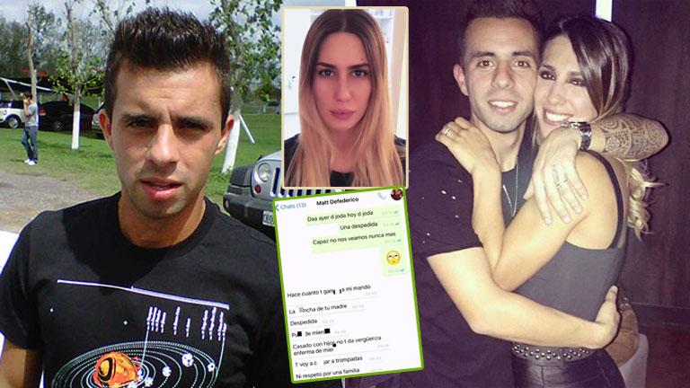 Matías Defederico y los rumores de infidelidad