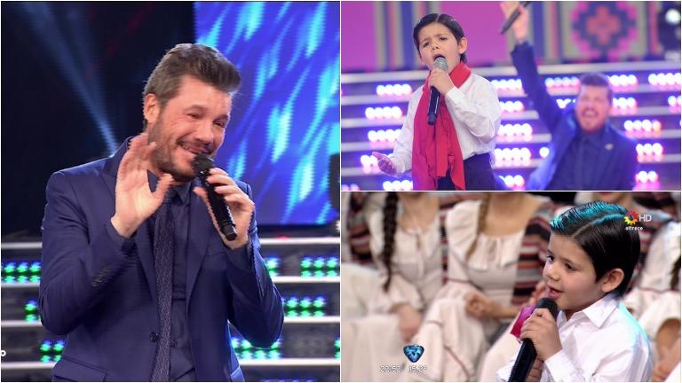 Enoc, el nene que le sacó lágrimas de risa a Tinelli y brilló con su voz en ShowMatch