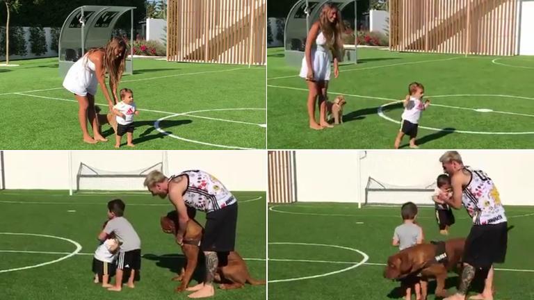 El video súper tierno del hijo menor de Messi aprendiendo a caminar: ¡alcanzó más de 2 millones de reproducciones en una hora!