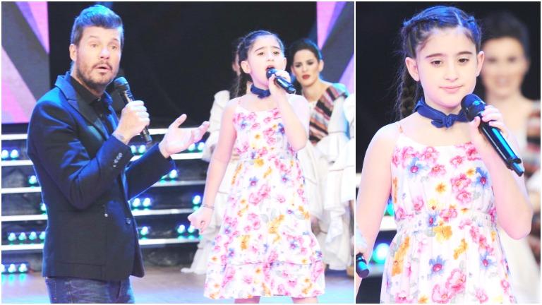 Delfina, la niña de 8 años que emocionó a todos en ShowMatch con su talento