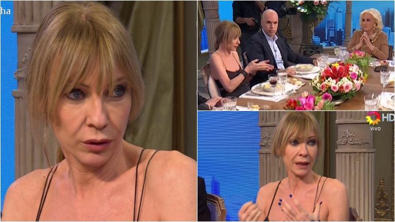 Inés Estévez habló de su retiro de la actuación en la mesa de Mirtha