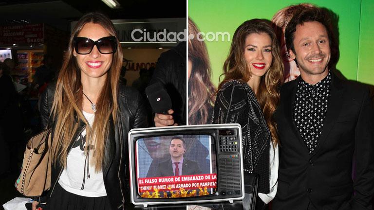 """¡Escándalo! Pampita habría lanzado el rumor de embarazo de China Suárez ¡y la actriz redobló la apuesta!: """"Vamos a buscar un bebé con Benja"""""""
