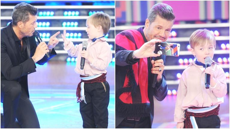 Conocé a Mateo, el nene de 5 años que enterneció con su canto en ShowMatch
