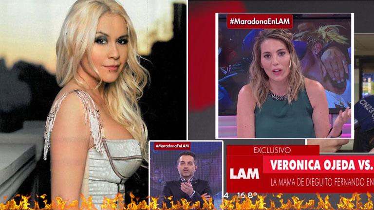 """El durísimo exabrupto en vivo de Veronica Ojeda con una panelista: """"¡Callate la boca, idiot…!"""""""
