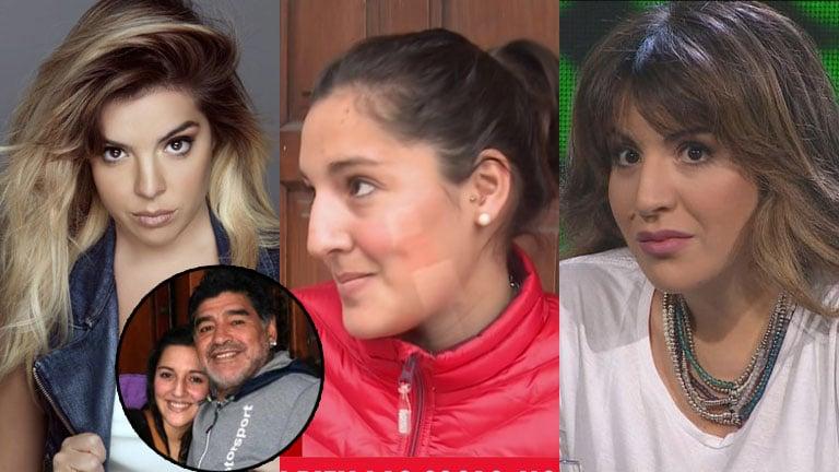 Jana Maradona habló de todo