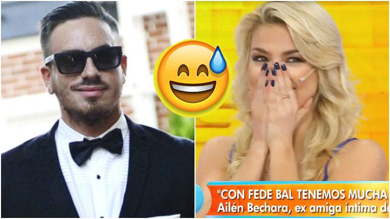 El divertido blooper de Ailén Bechara en Intrusos
