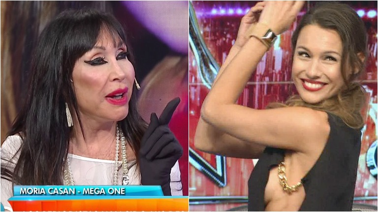 Moria Casán disparó en Intrusos contra Pampita:
