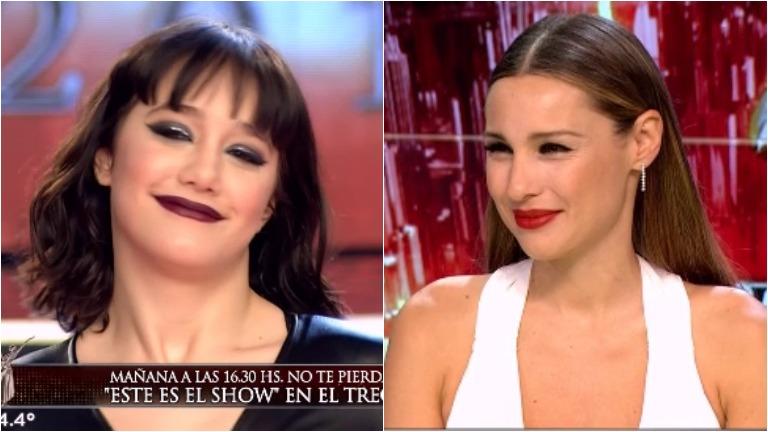 El tenso momento de Pampita con Ángela Torres en ShowMatch